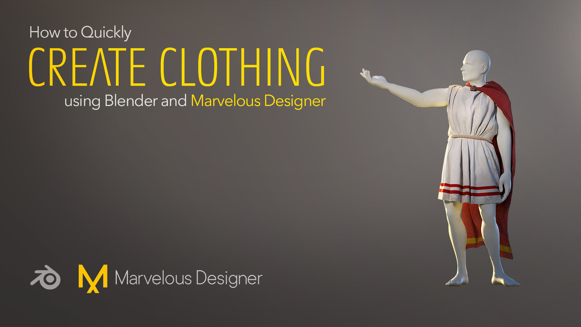 If you liked my How to Quickly Add Rigged Characters into Blender tutorial, you will like this new character creation tutorial, this time focusing on clothing creation in Marvelous Designer.