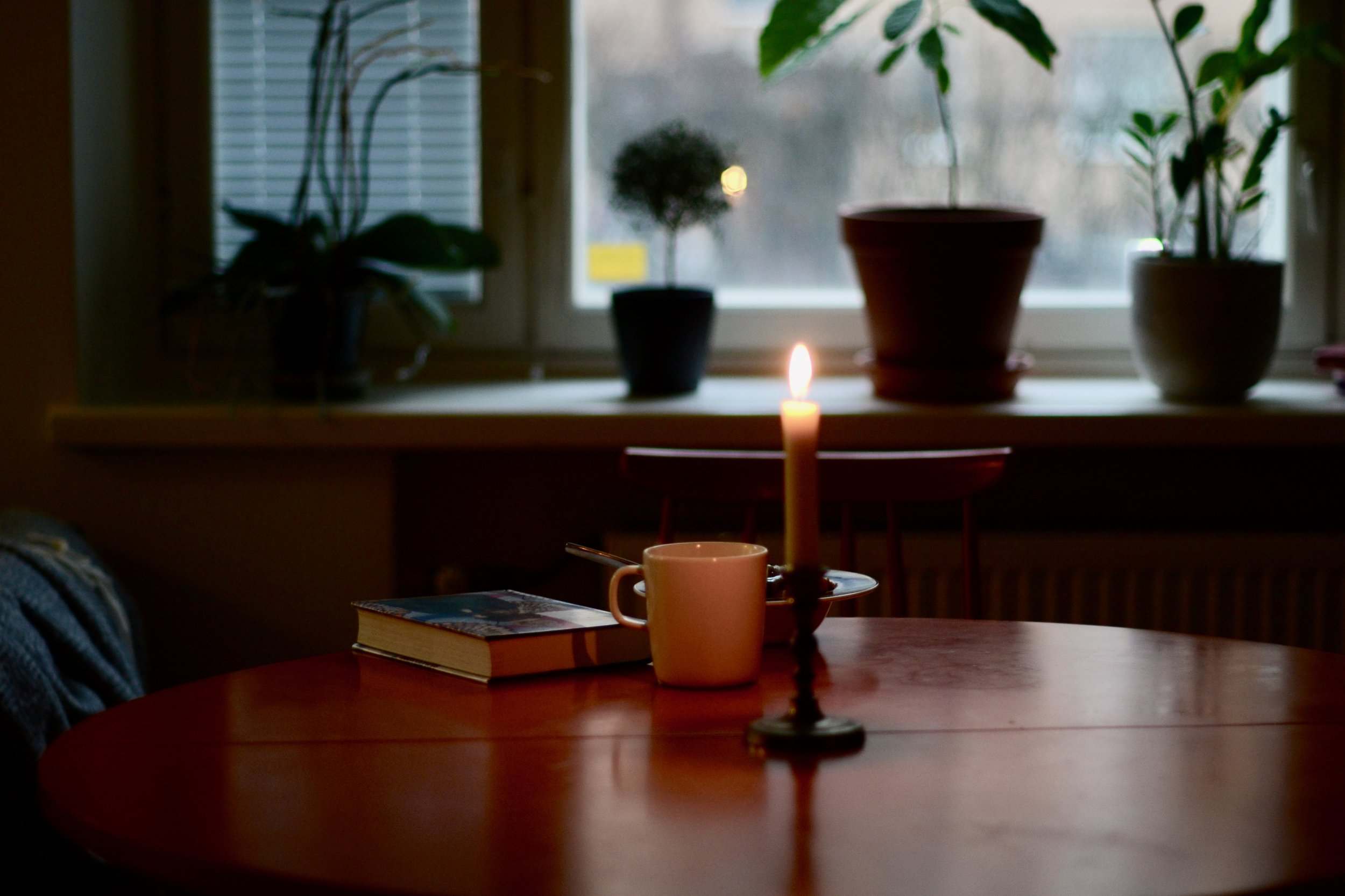 Pöydällä Mia Kankimäen  Naiset joita ajattelen öisin , yksi tämän talven suosikkikirjoistani.