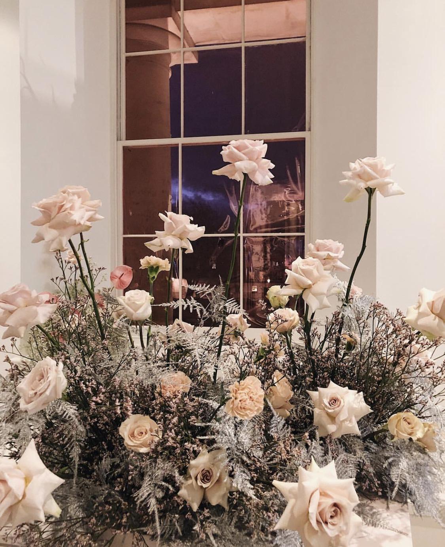 Floral displays by Bloom & Wild (@bloaumstudio image)