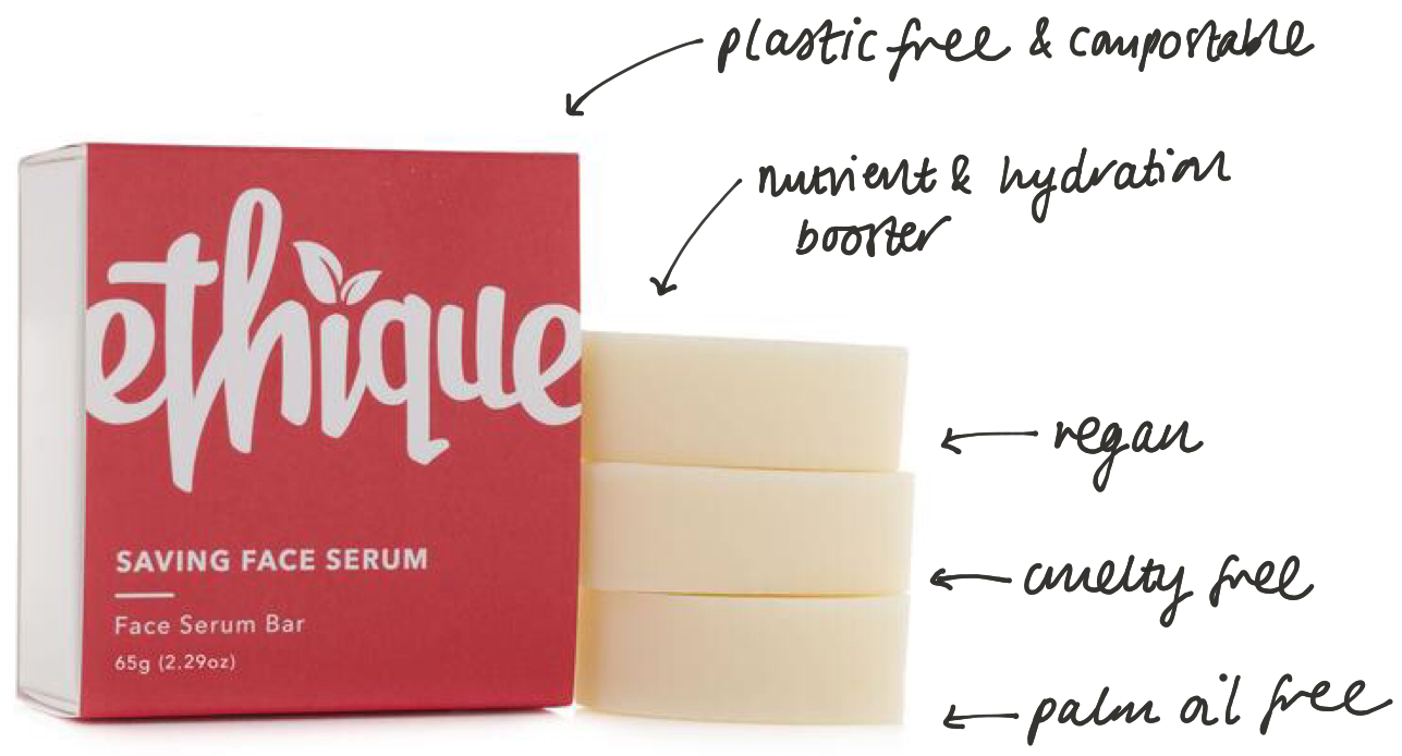 Ethique serum bar