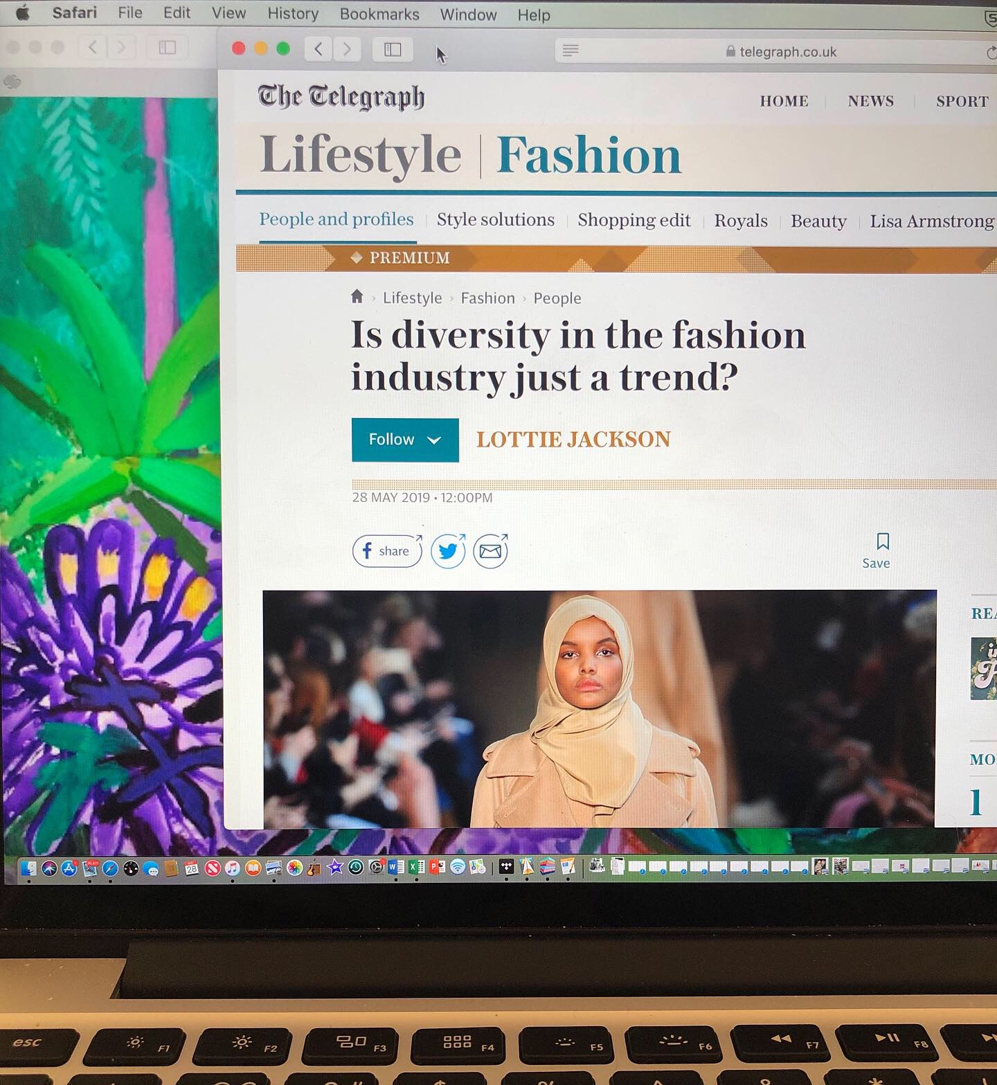 lottie jackson diversity in fashion