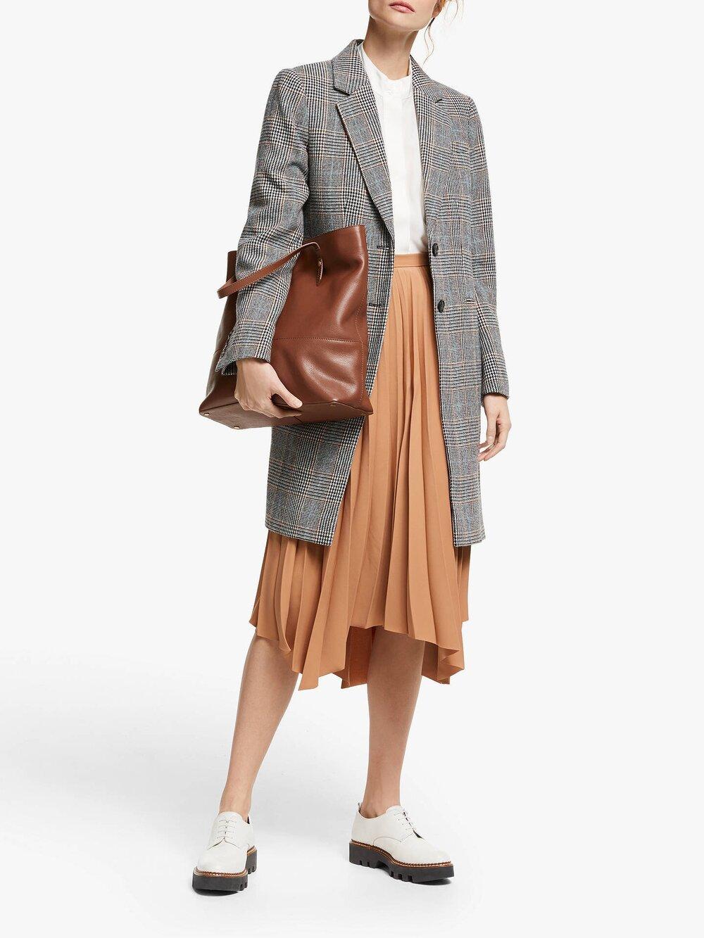 John Lewis & Partners Leather Smart Set Tote Bag