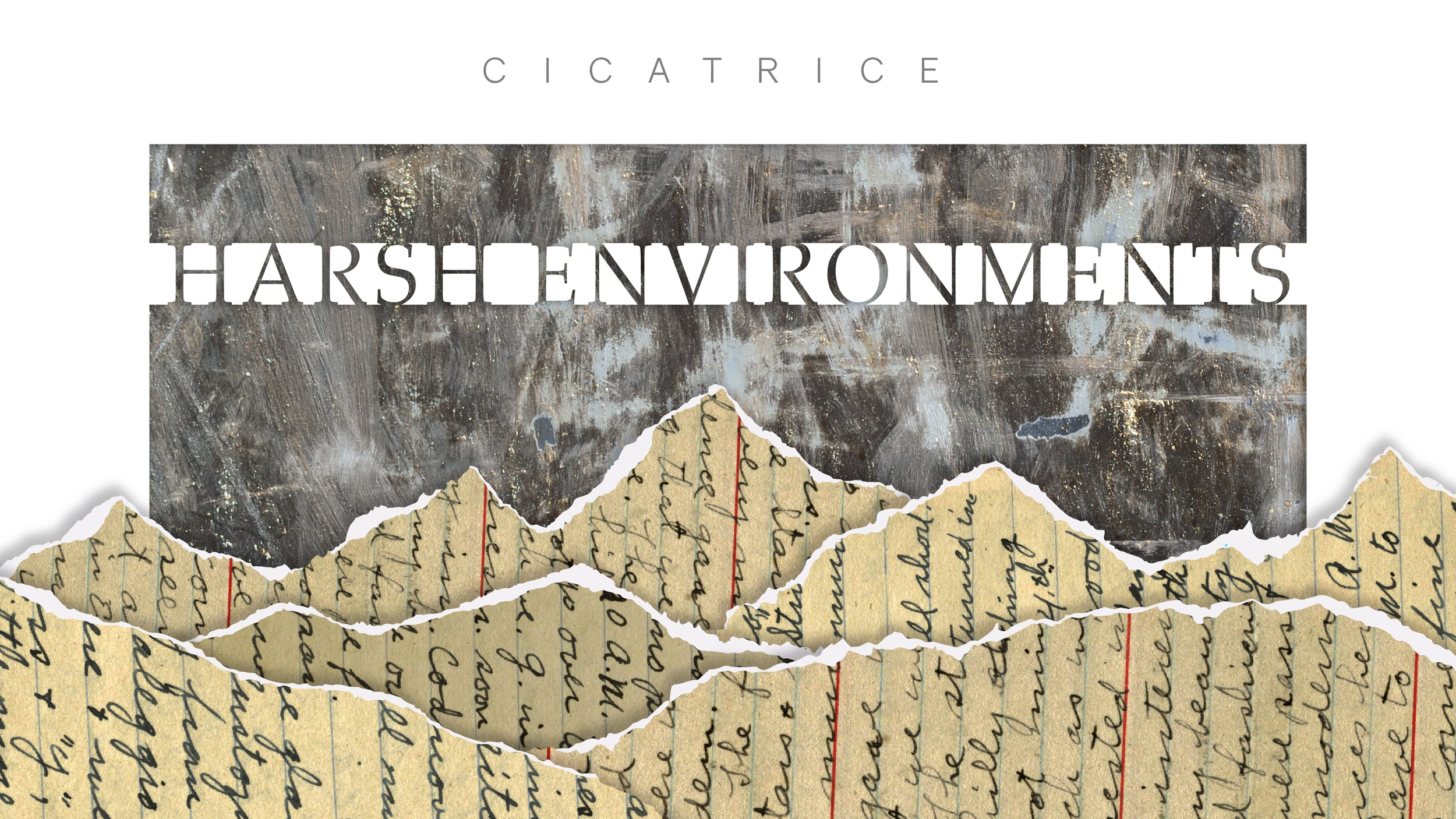 Cicatrice - Visual design for the university's creative writing journal