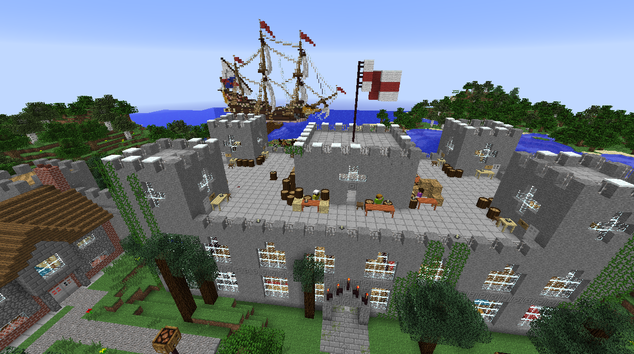Students spawned in this port city and teamed up to purchase supplies for colonization