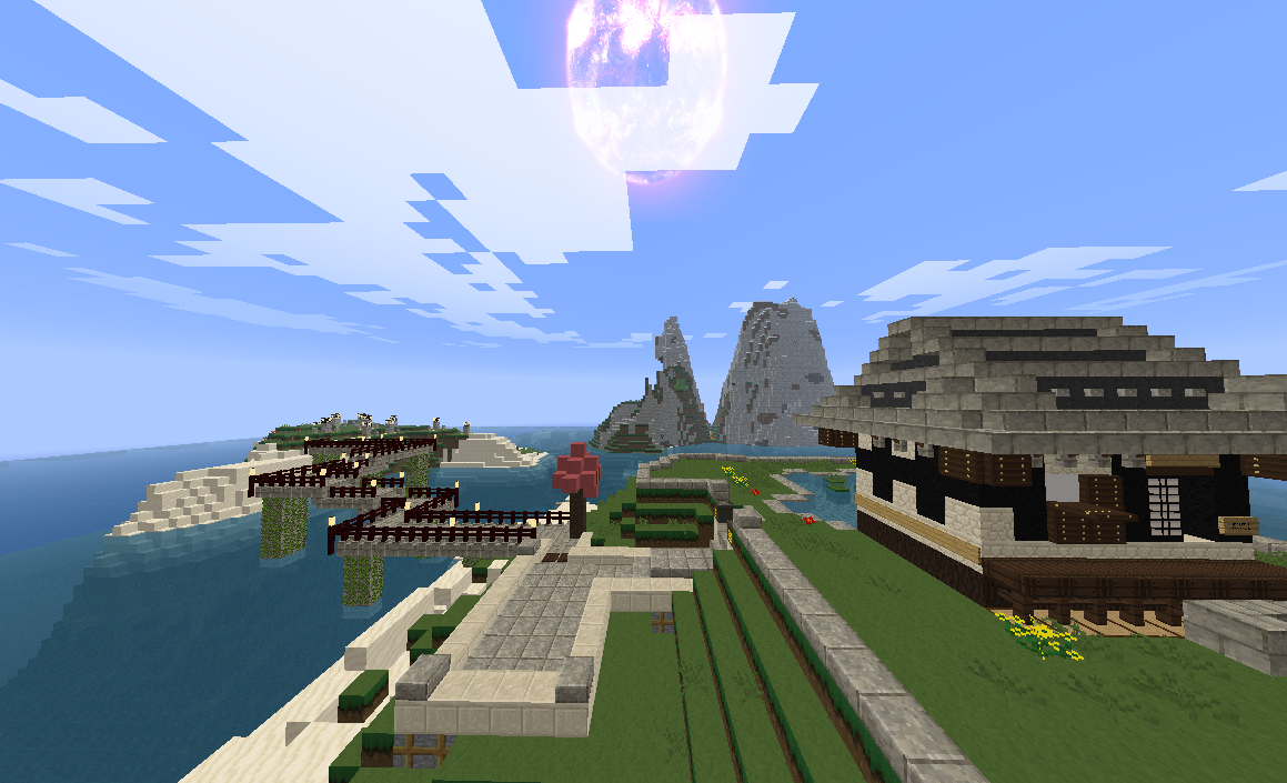 Poetry Island is the spawn point and contains teleport stations to student poems.