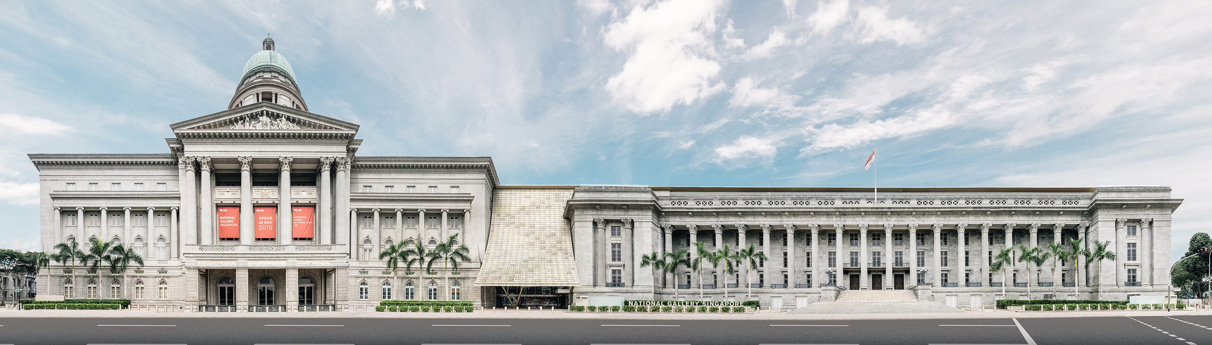 Exterior of the National Gallery of Singapore