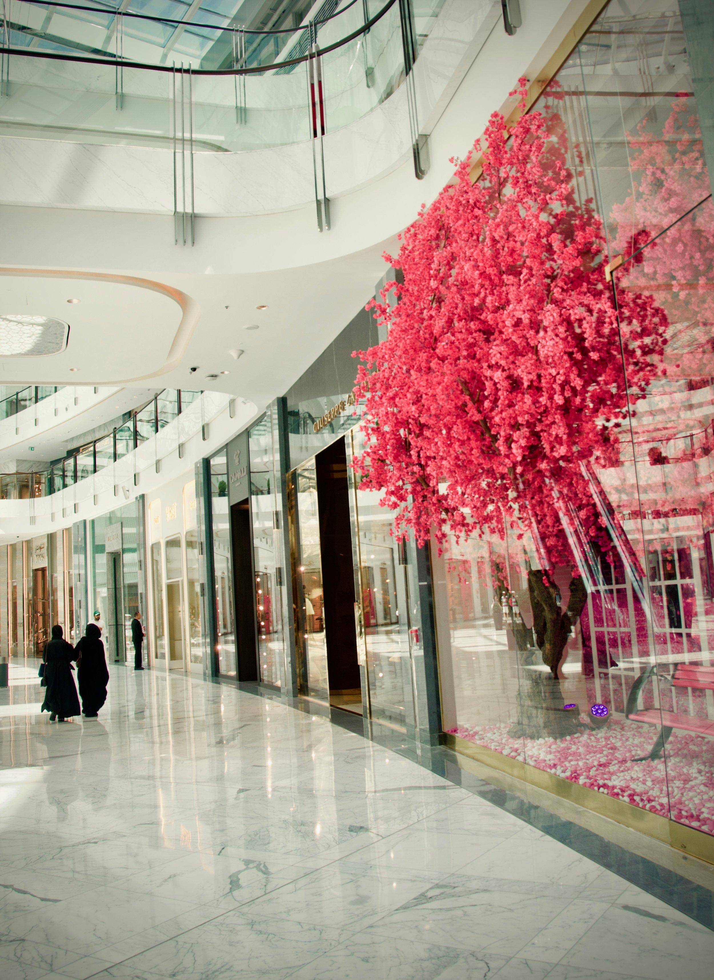 Springtime in the Dubai Mall