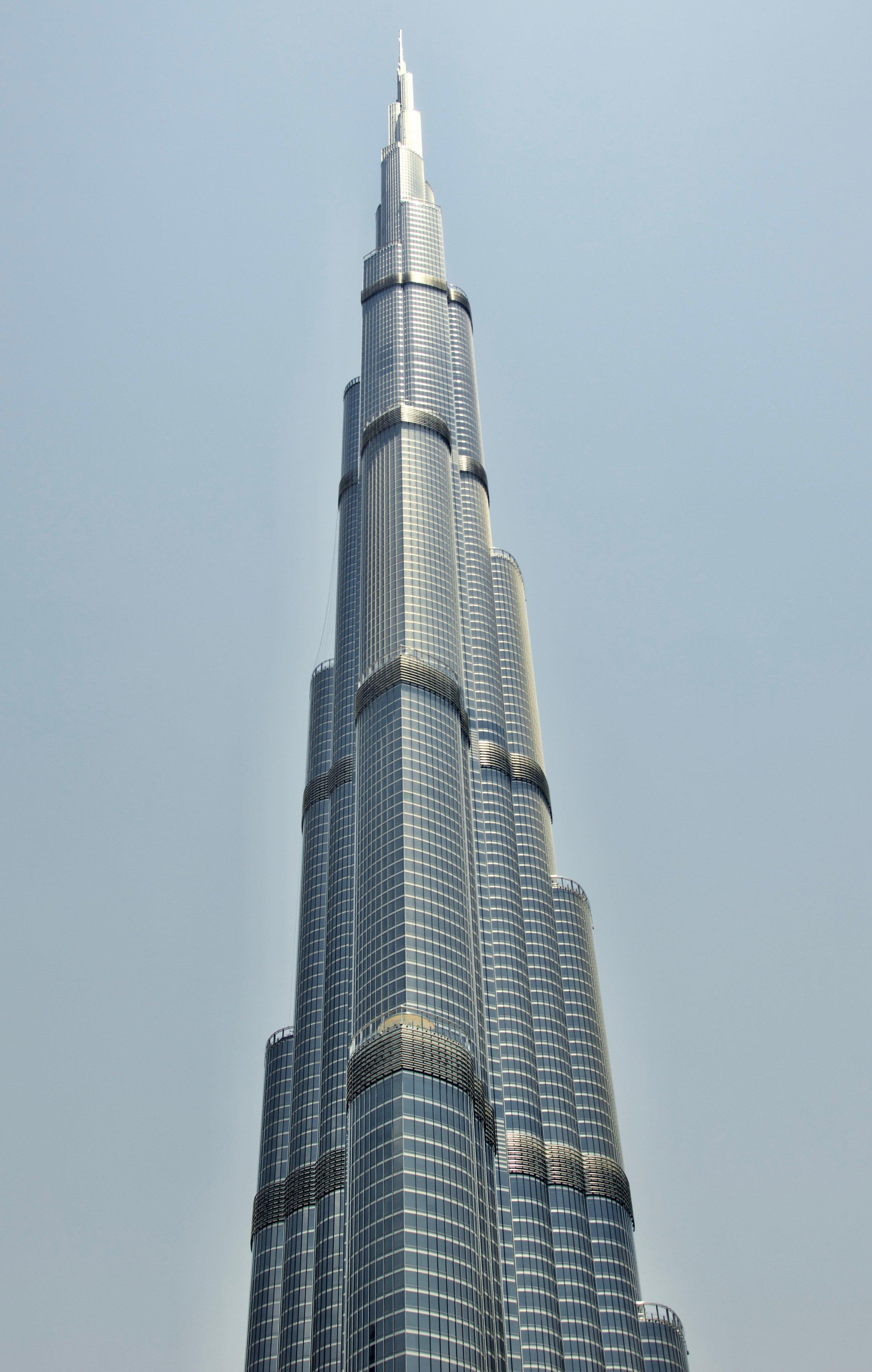 Burj Kalifa at 2,700 feet