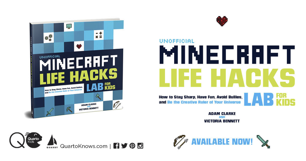 Unofficial Minecraft Life Hacks Lab for Kids Review — John