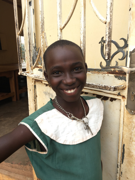 Our friend, Joanne. She is a student of St. Ann's Madera (P5)*