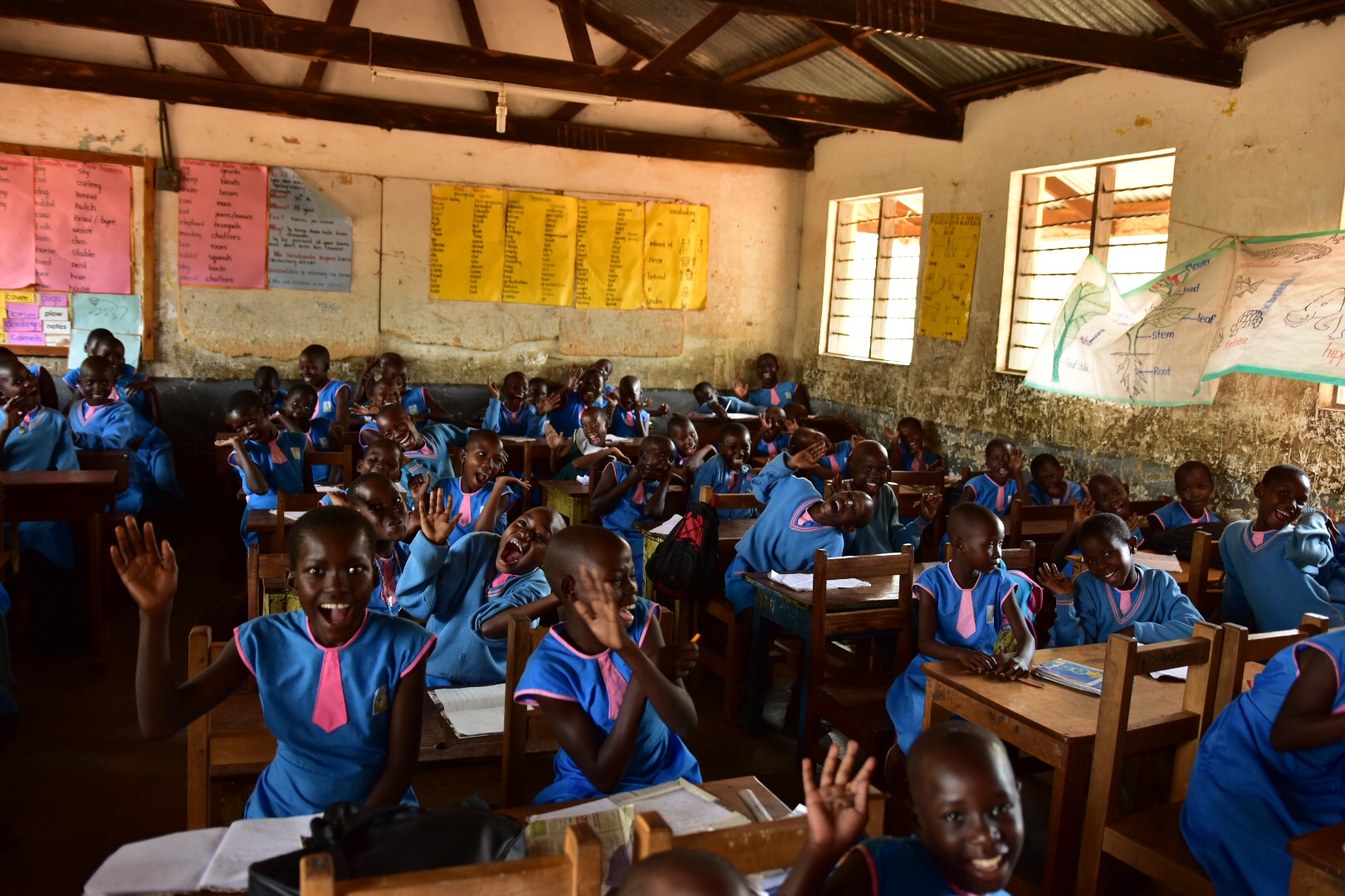 St. Ann's Girls Primary School. P3 class