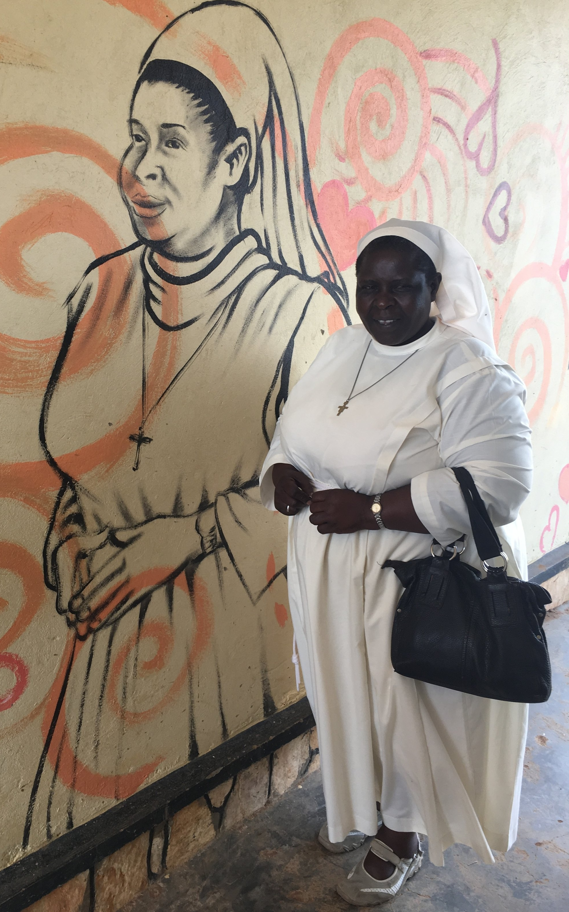Sr. Winnie, Principal of St. Francis Secondary School for the Blind