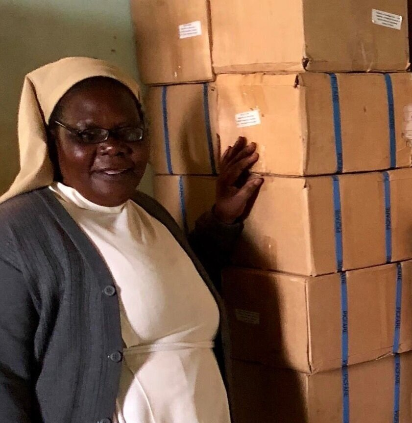 Sr. Rose, Principal, St. Francis Primary School for the Blind