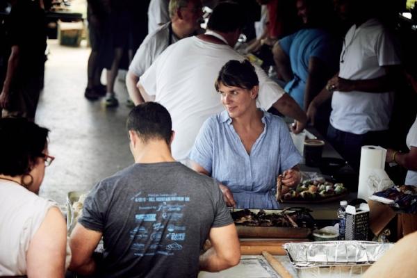 Chef Vivian Howard at Lambstock