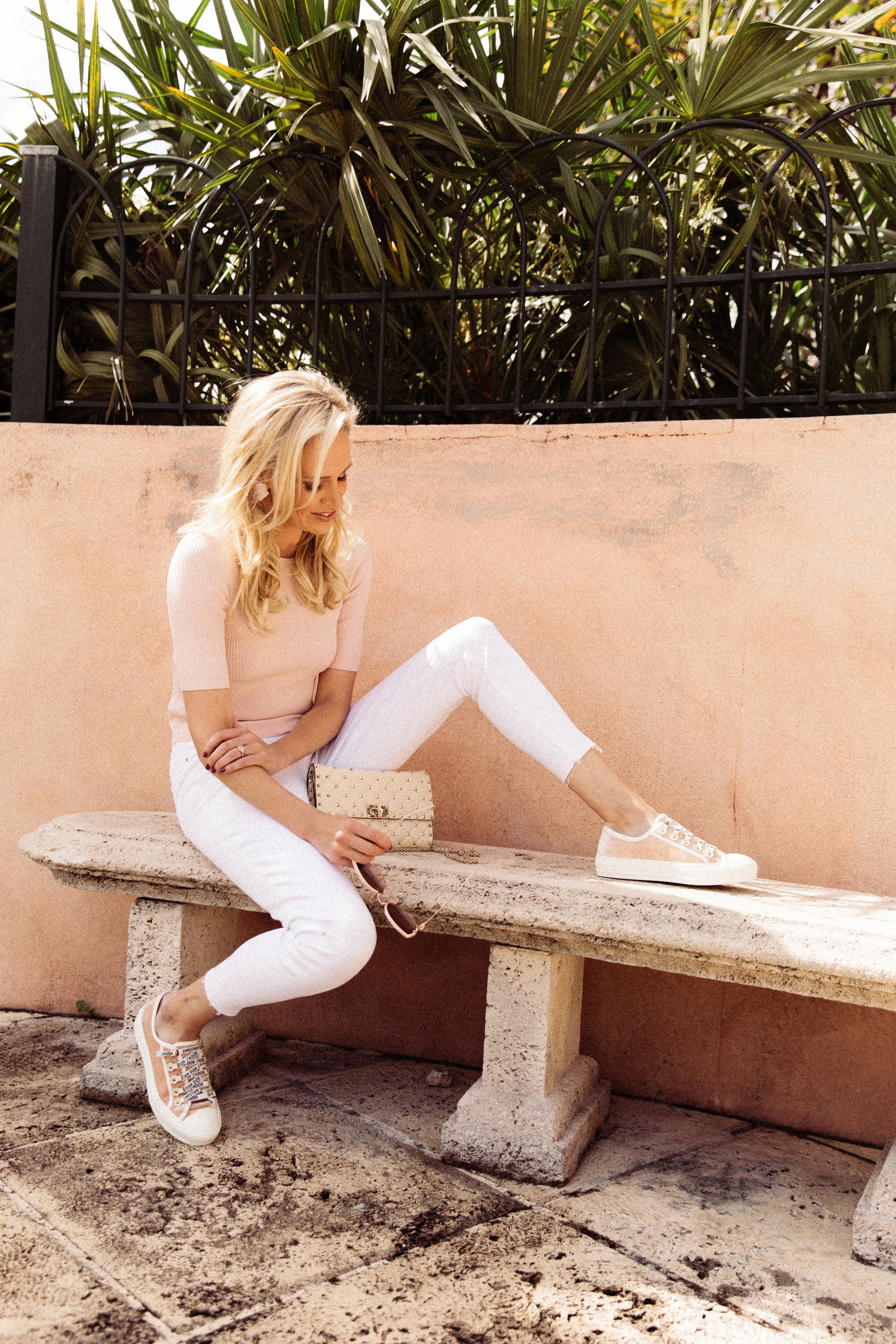 I strive for edgy, chic, and a tad bit of bold. So, when the expected pastel trend pops up every spring, I get a little … what's the word … uneasy. Investing in pastels for my wardrobe feels like cheating on my go-to, style staples.