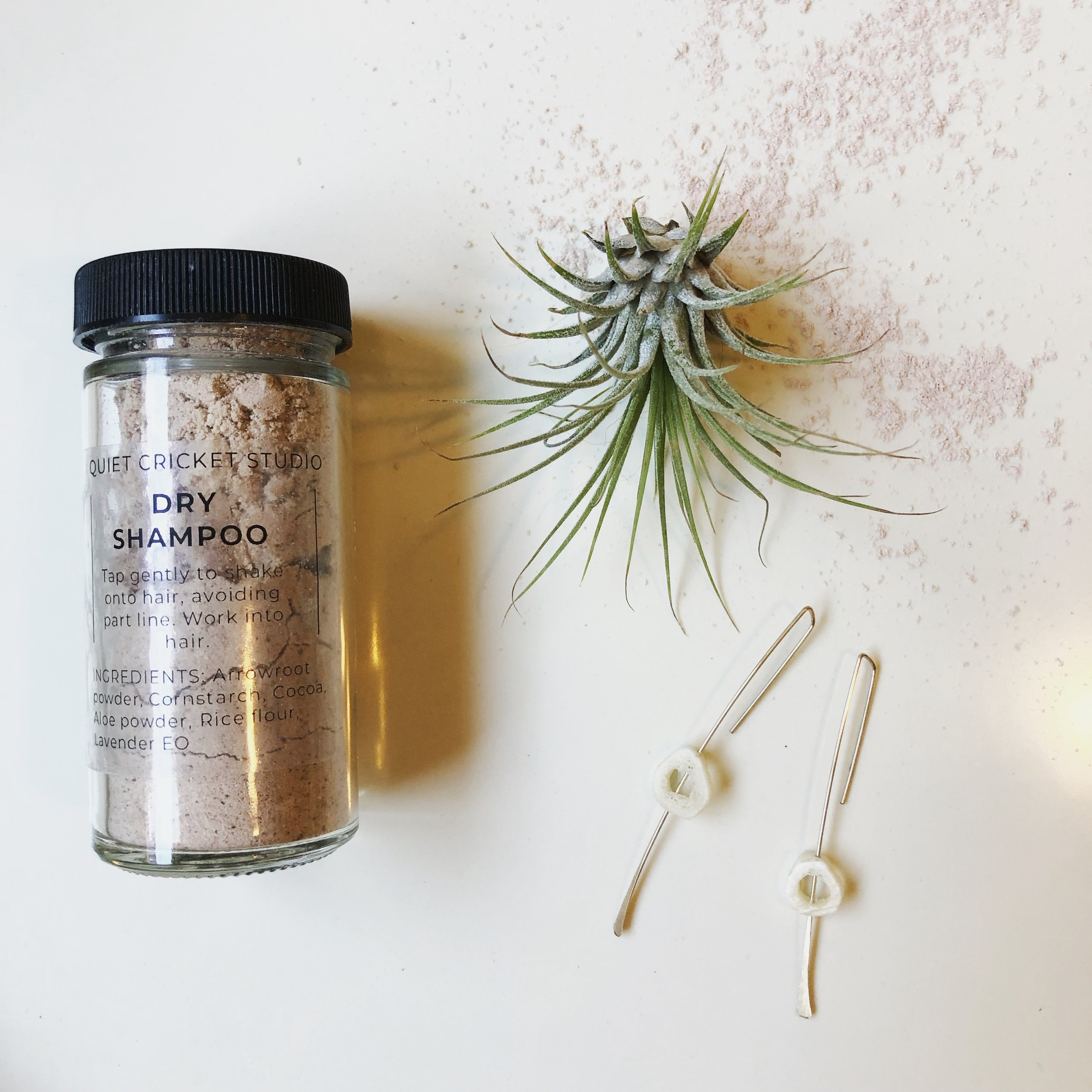 Dry Shampoo by Quiet Cricket Studio, Medium Tone