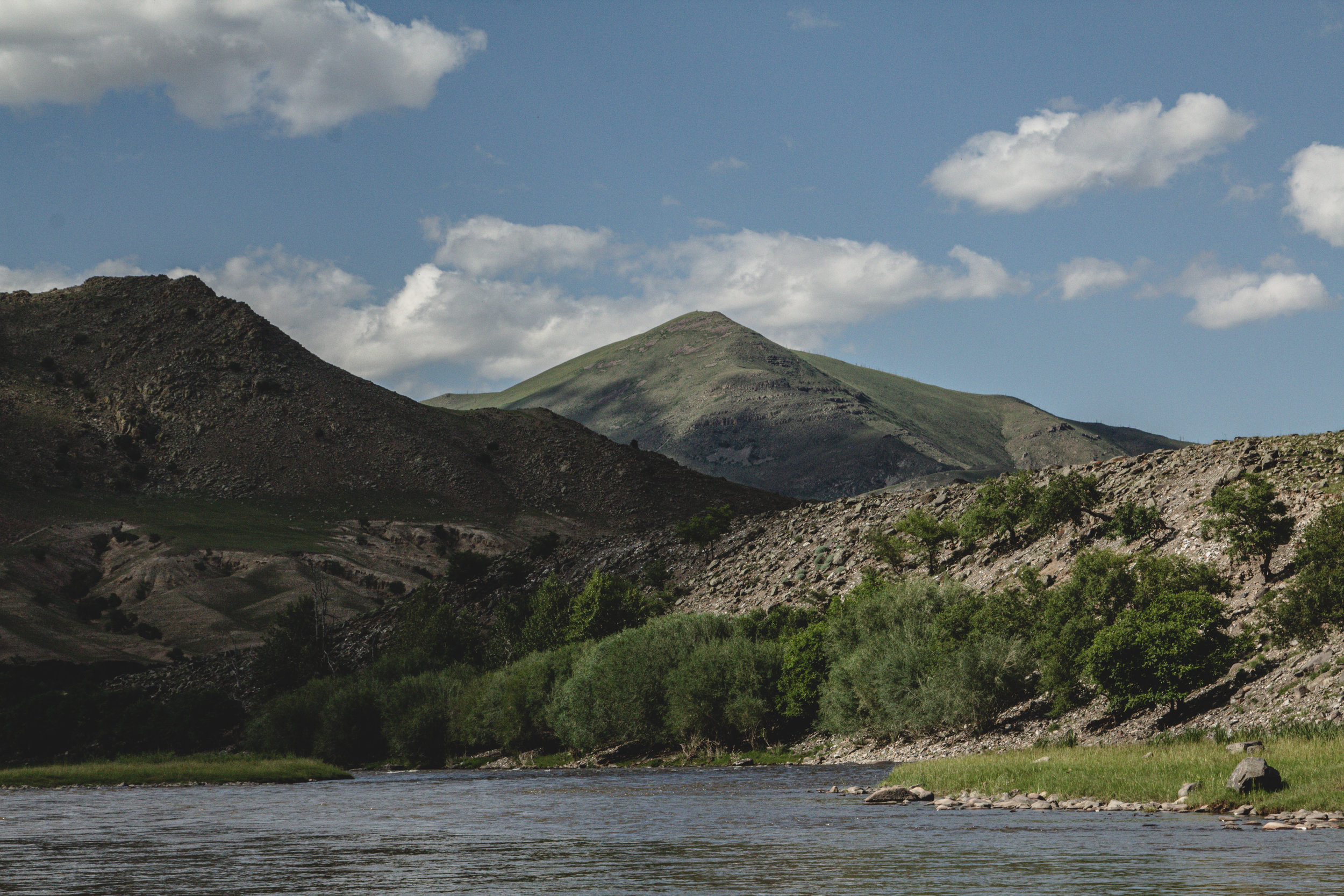 I could only imagine the Mongolian landscapes that waited for us while we sat around hoping that our flight would leave soon. The thought of the mountains and the river was the only thing that kept us going that night.