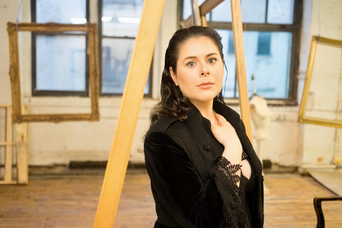 Soprano Rachel Hippert Photo by Hassan Malik