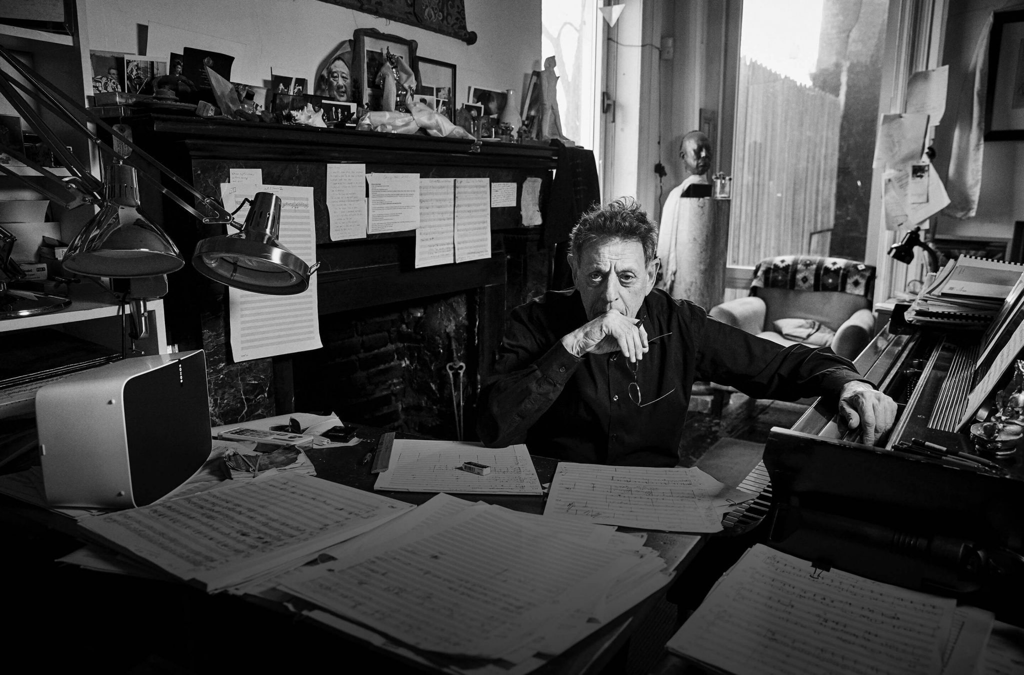 Philip Glass Photo by Danny Clinch