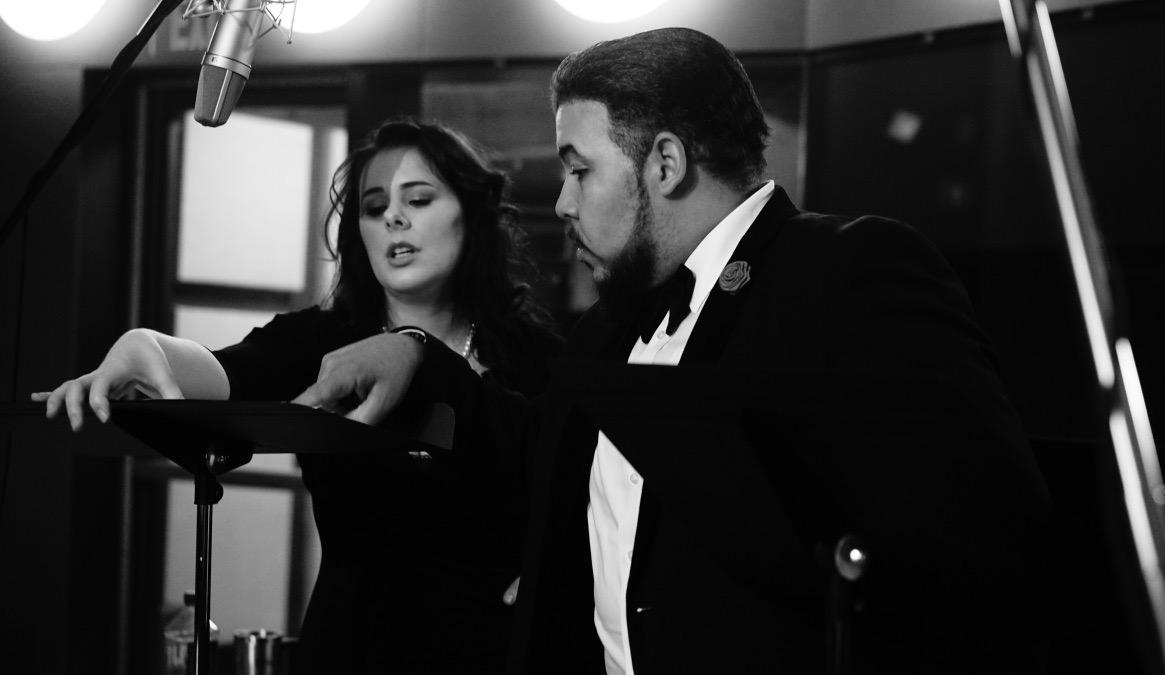 Tenor Jose Heredia & Soprano Rachel Hippert  Photo by Hassan Malik