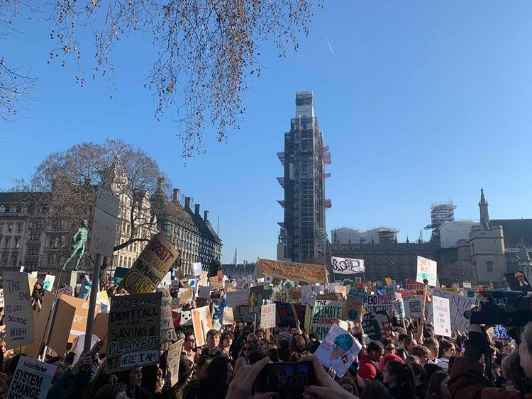 CLIMATE STRIKE AND COALITION; LSE JOINS THE INTERNATIONAL CALL FOR ACTION   CHRISTIE VAN TINTEREN