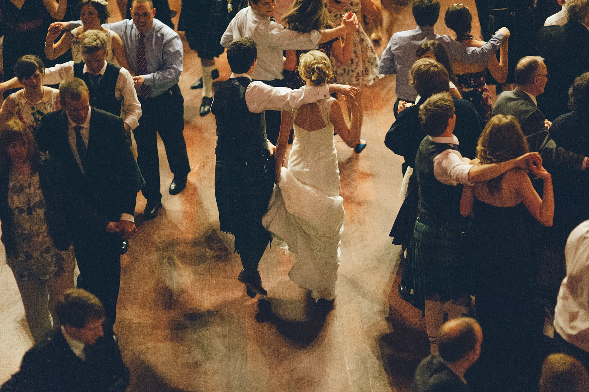 WEDDINGS - Nothing brings people together like a Scottish ceilidh.