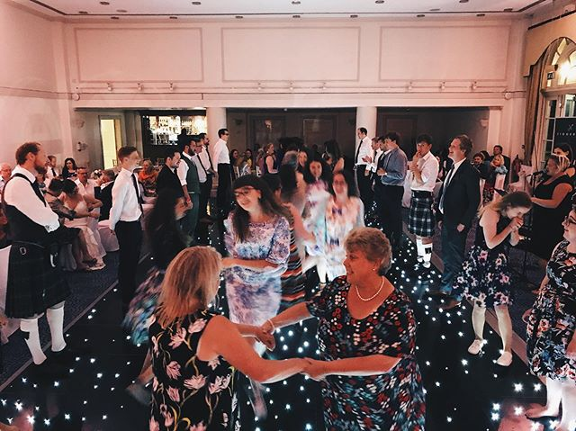 What.A.Ceilidh. . Lots of folk hearing us for the first time last night at Josh and Kathryn's @balbirniehouse wedding. Loads of new Jiggered fans! We love it!