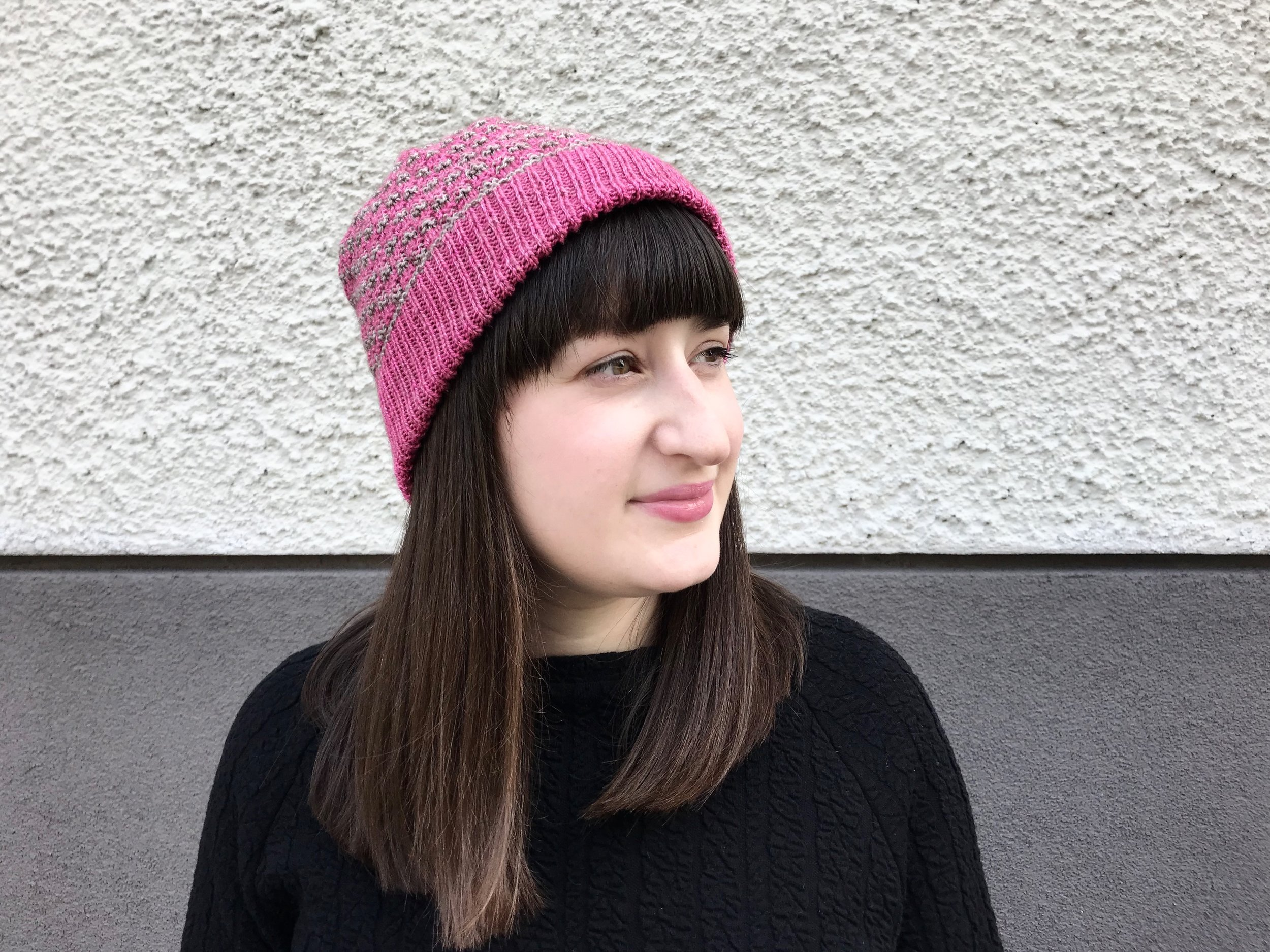 Fiona Alice is a knitting designer and the author of 'Take Heart: A Transatlantic Knitting Journey'.
