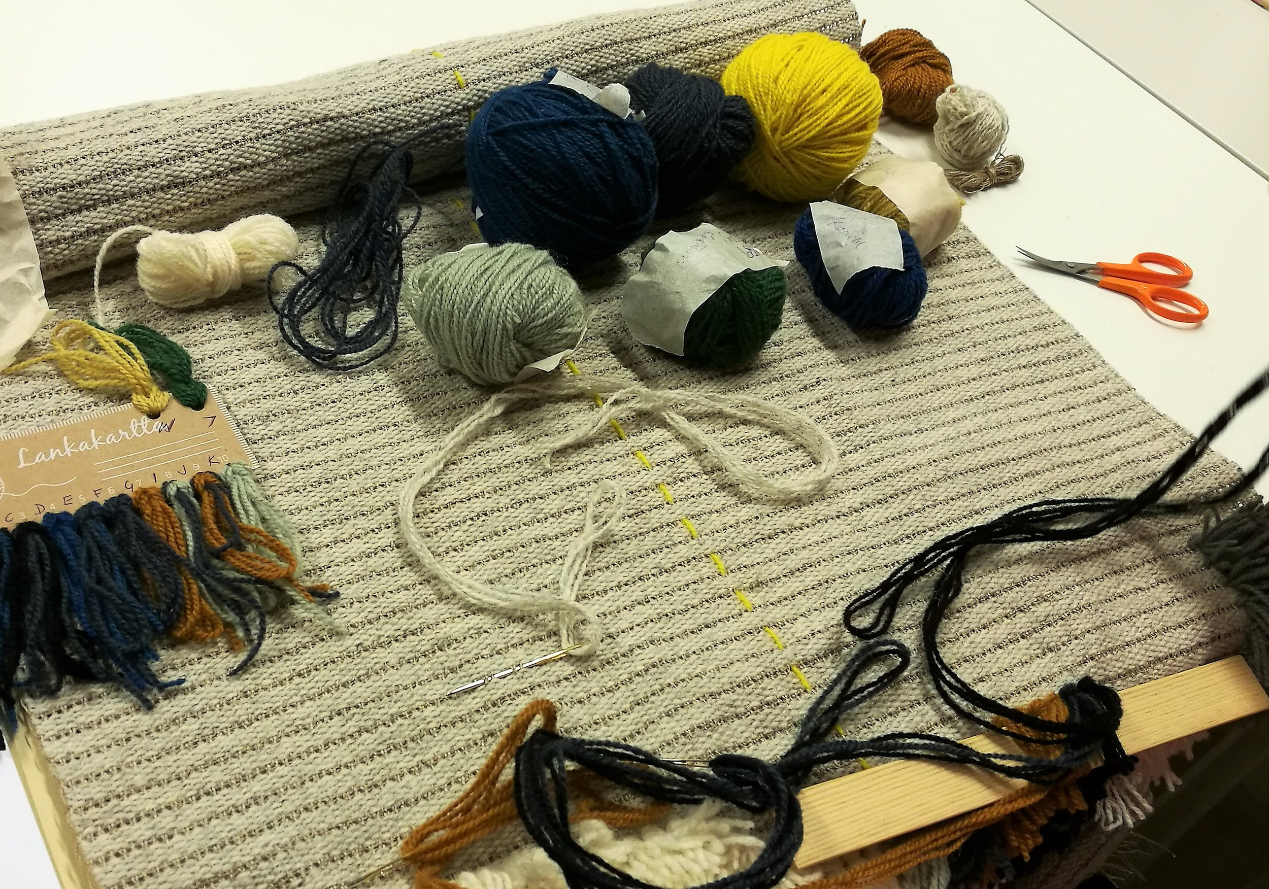 Come and share your passion for rya rug making!