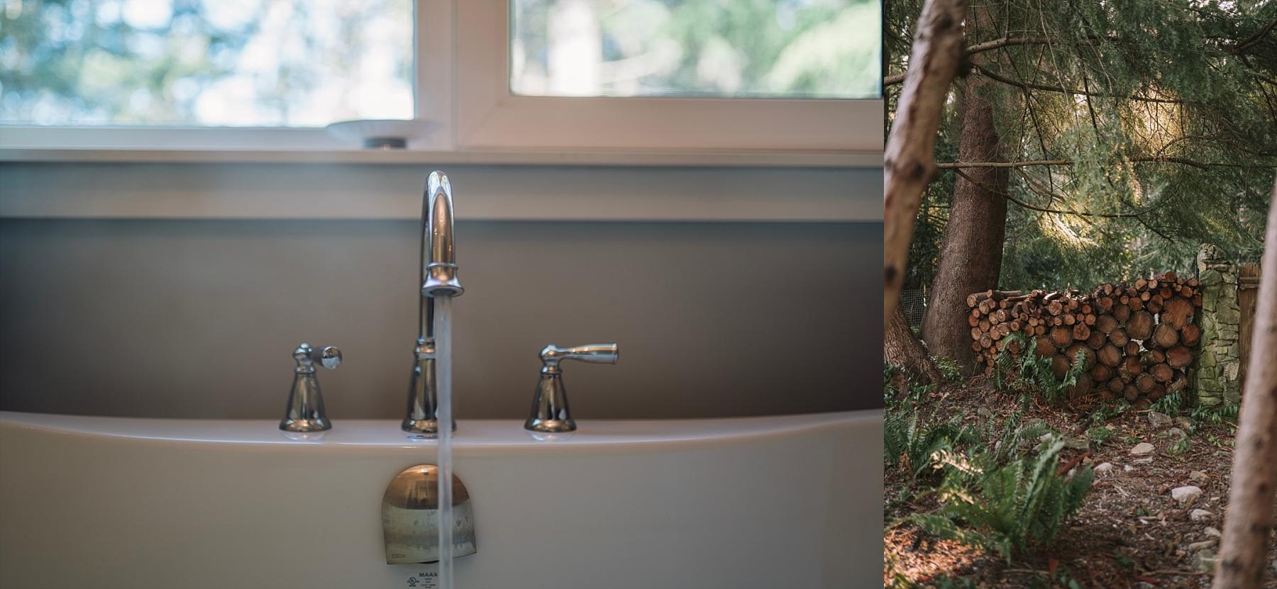 airbnb soaker tub