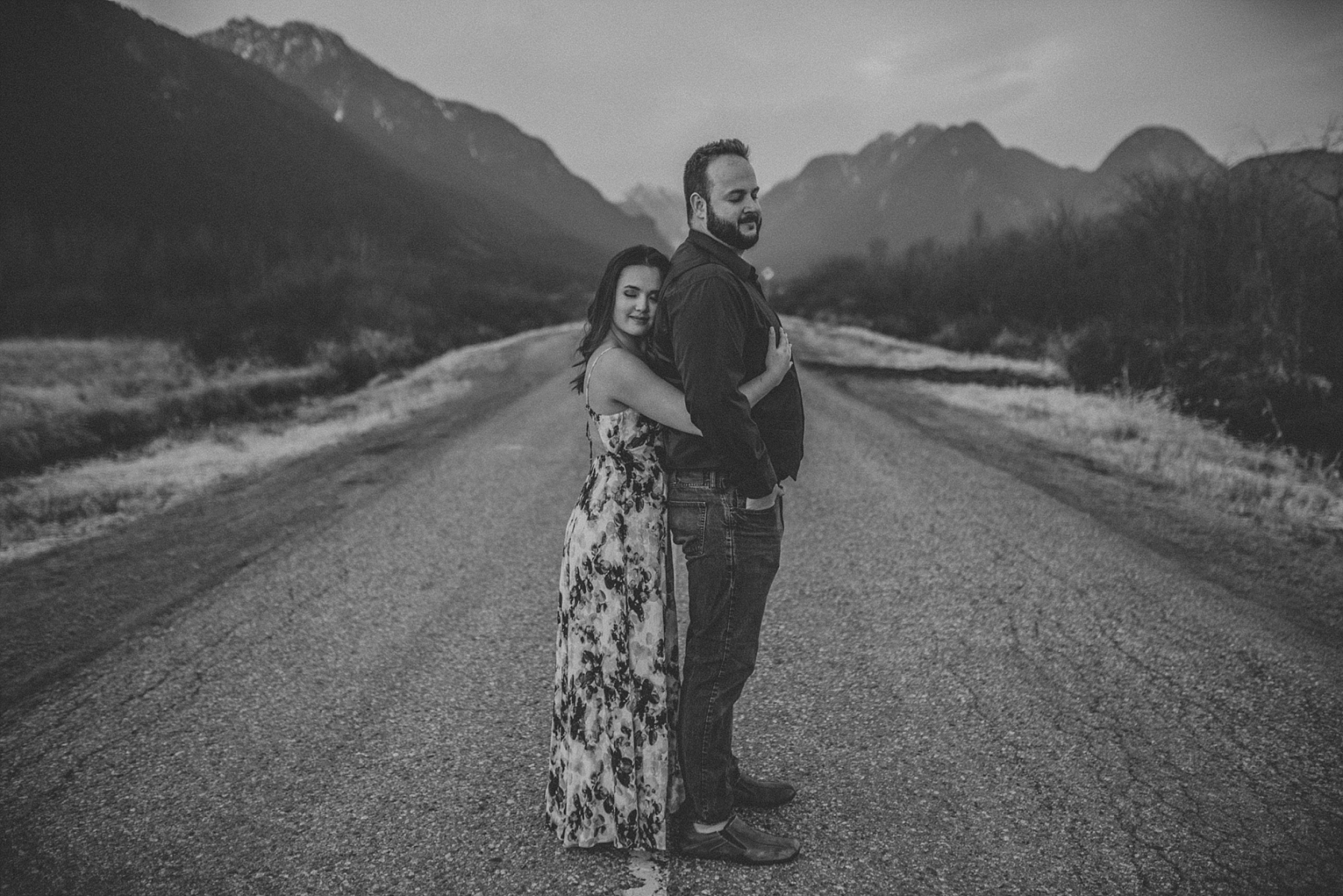 maple ridge engagement photos