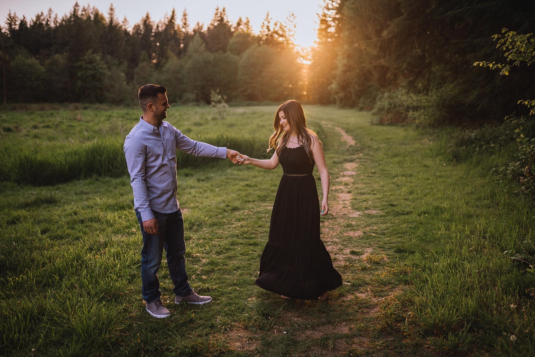 langley engagement photos