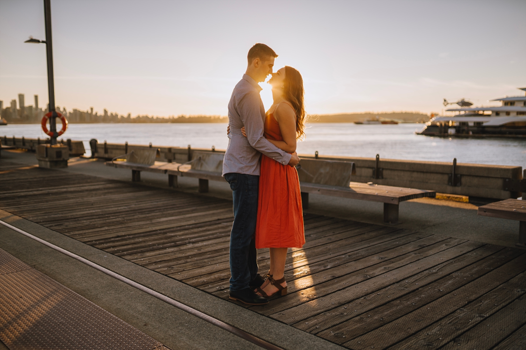 North Vancouver Fall Engagement Session