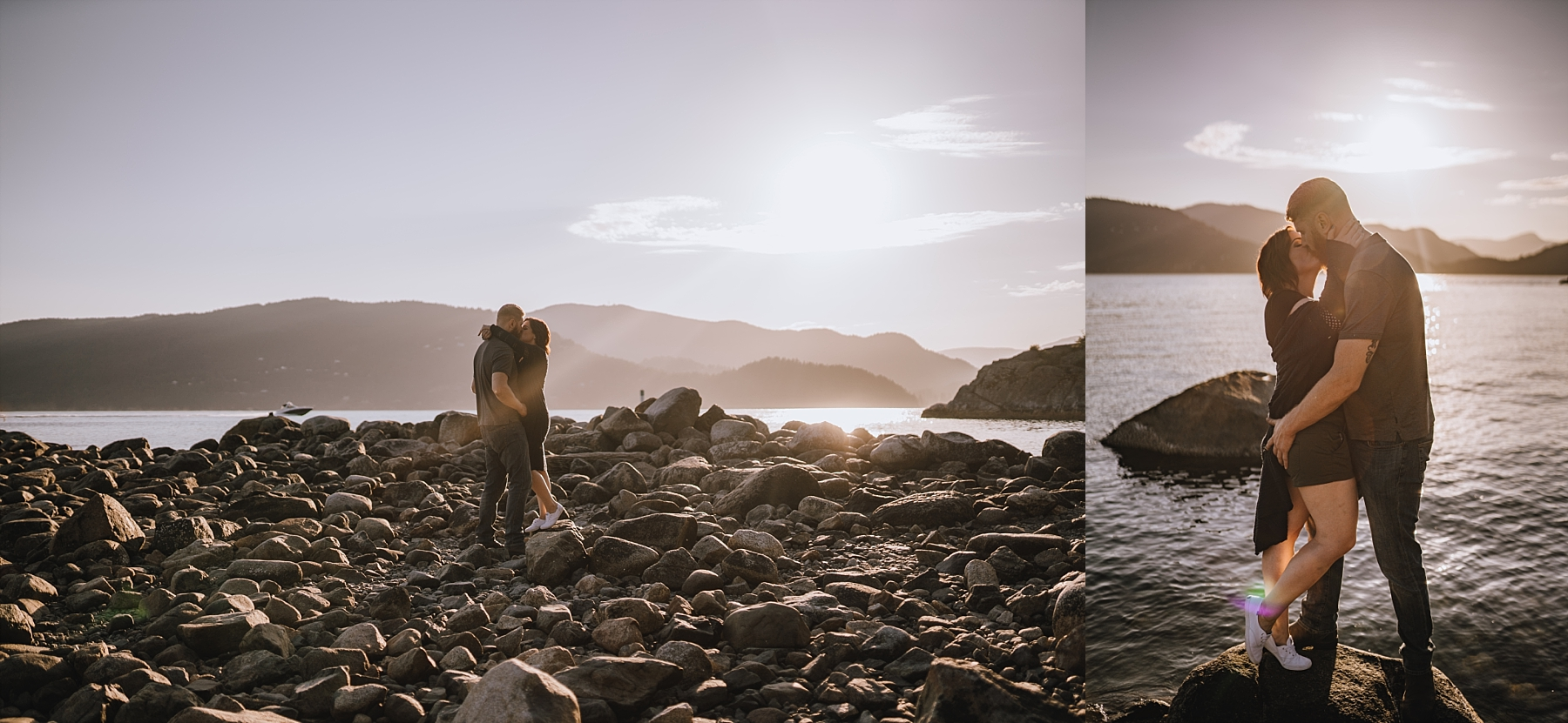 whytecliff park engagement session