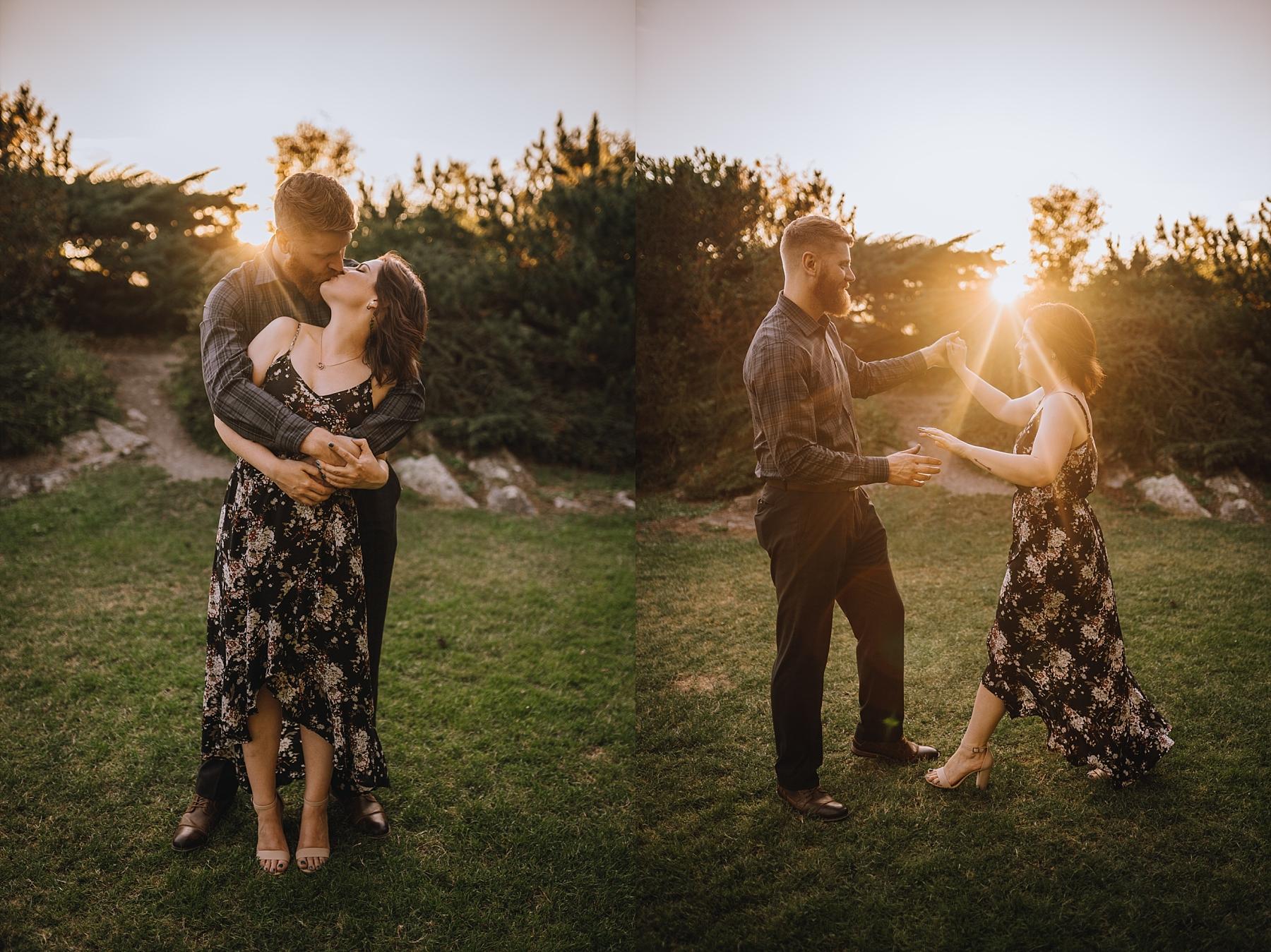 west vancouver engagement photographer