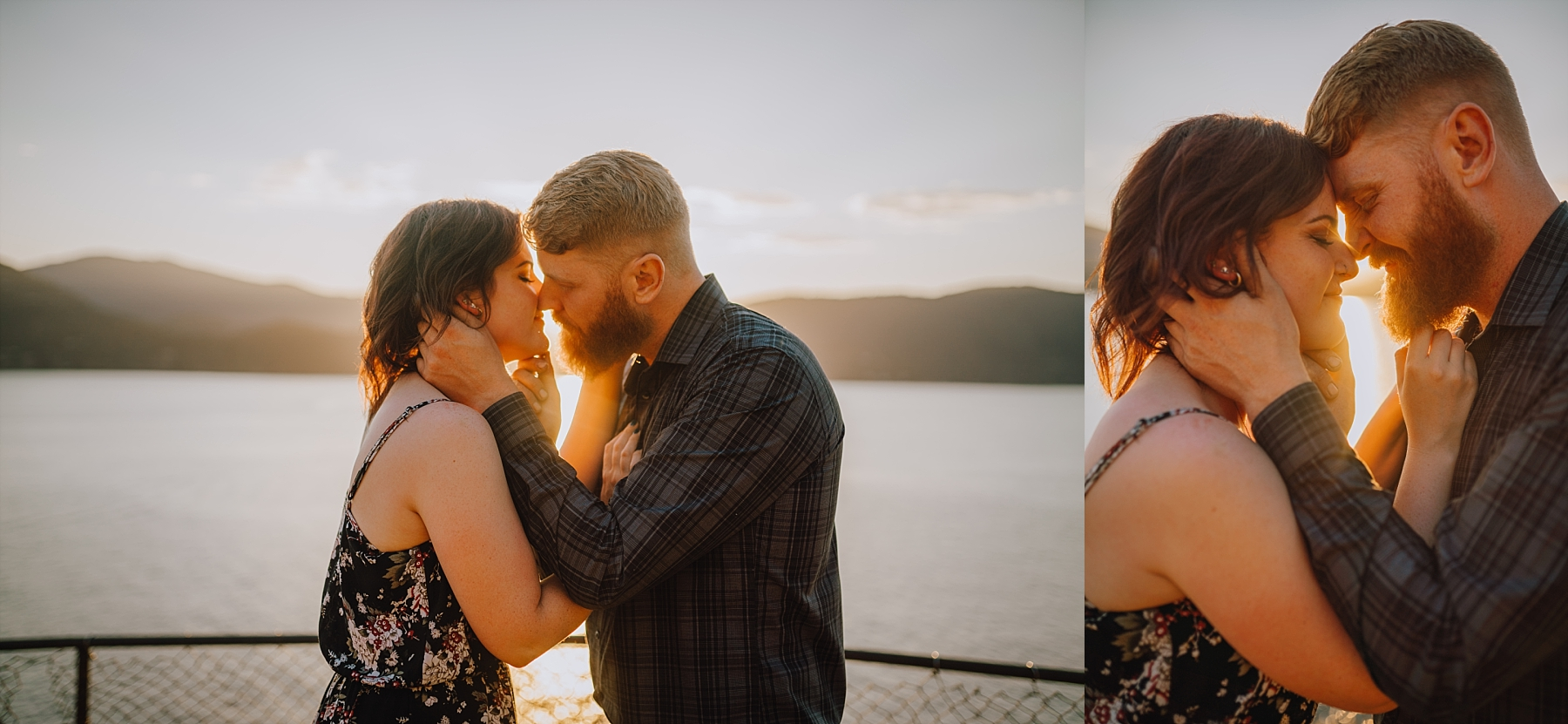 vancouver summer engagement photos