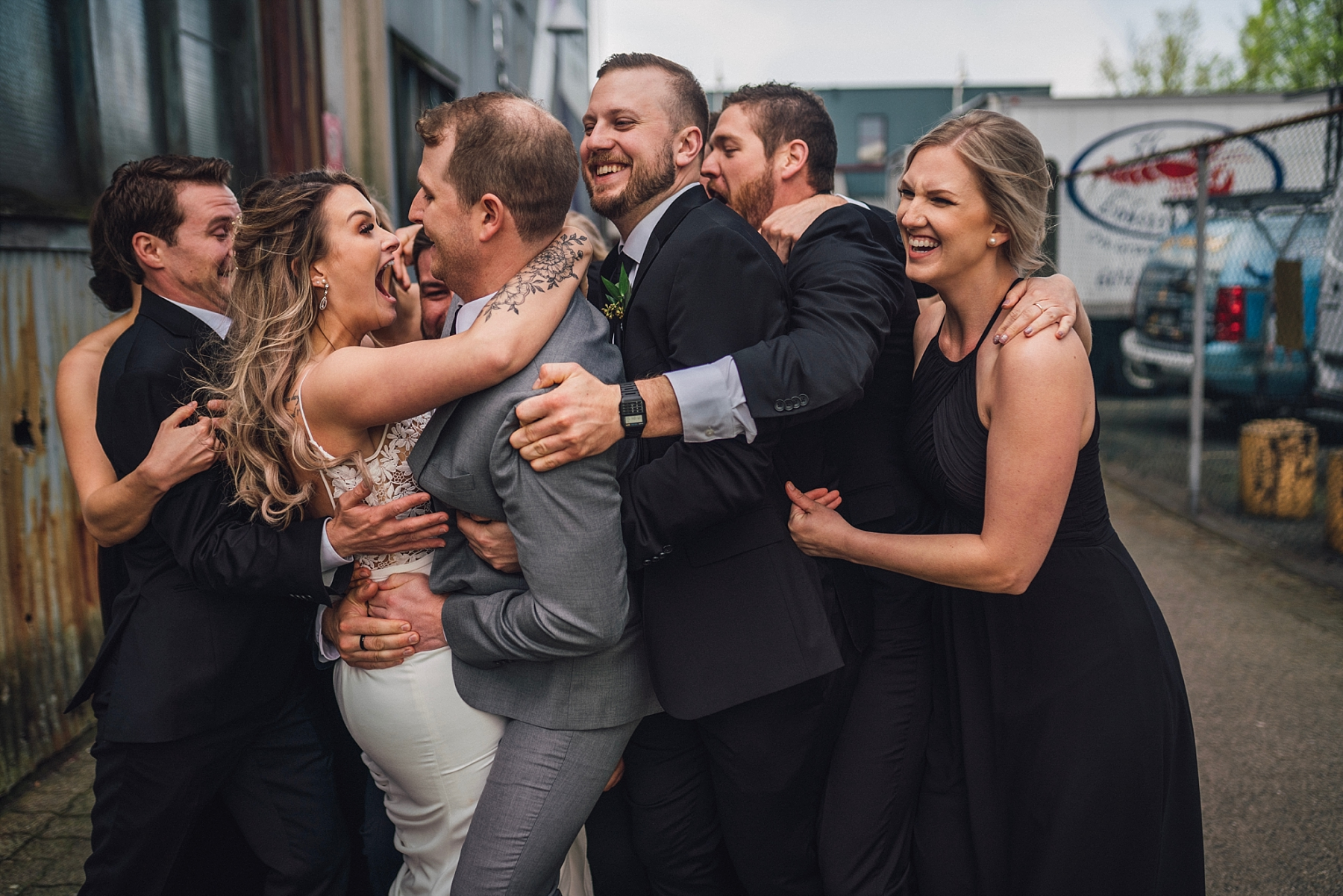 granville island wedding photographer