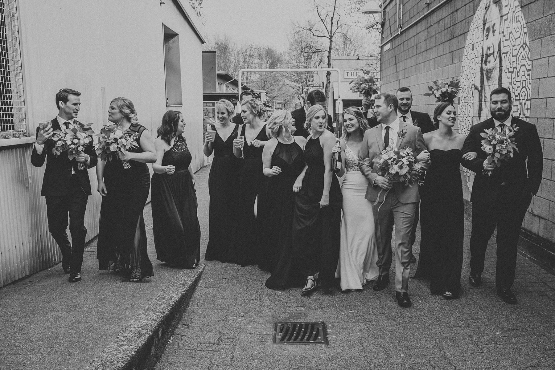 granville island wedding photos