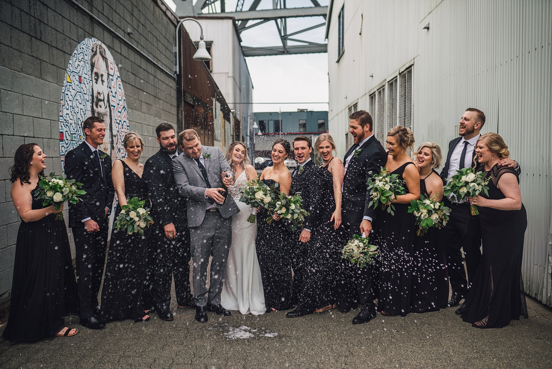 granville island wedding photography