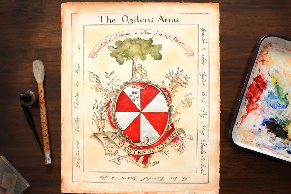 Ogden's coat of arms
