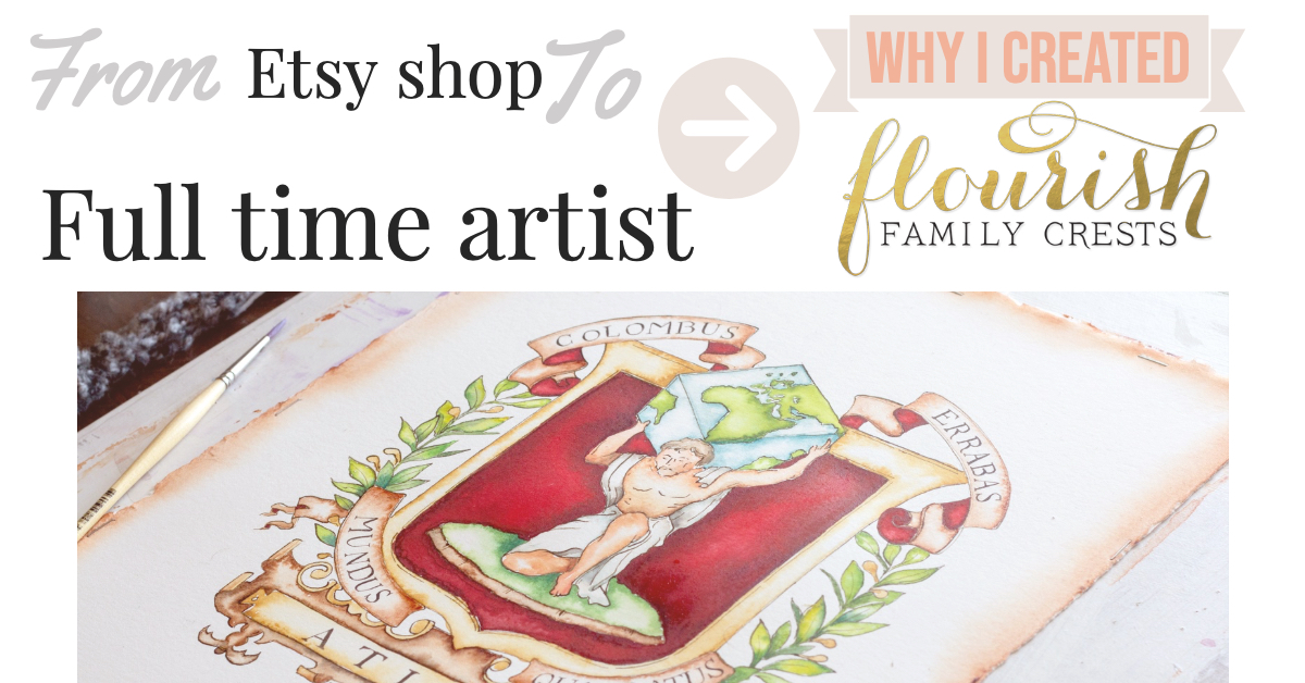 why I created flourish family crests