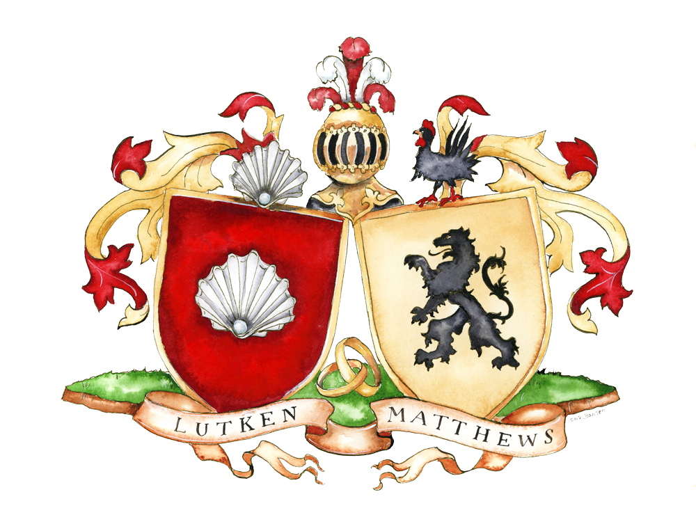 conjugal family crest