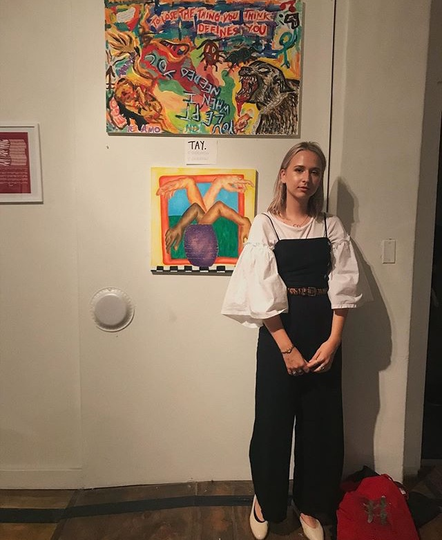 Taylor McCabe at Color Theory Club II