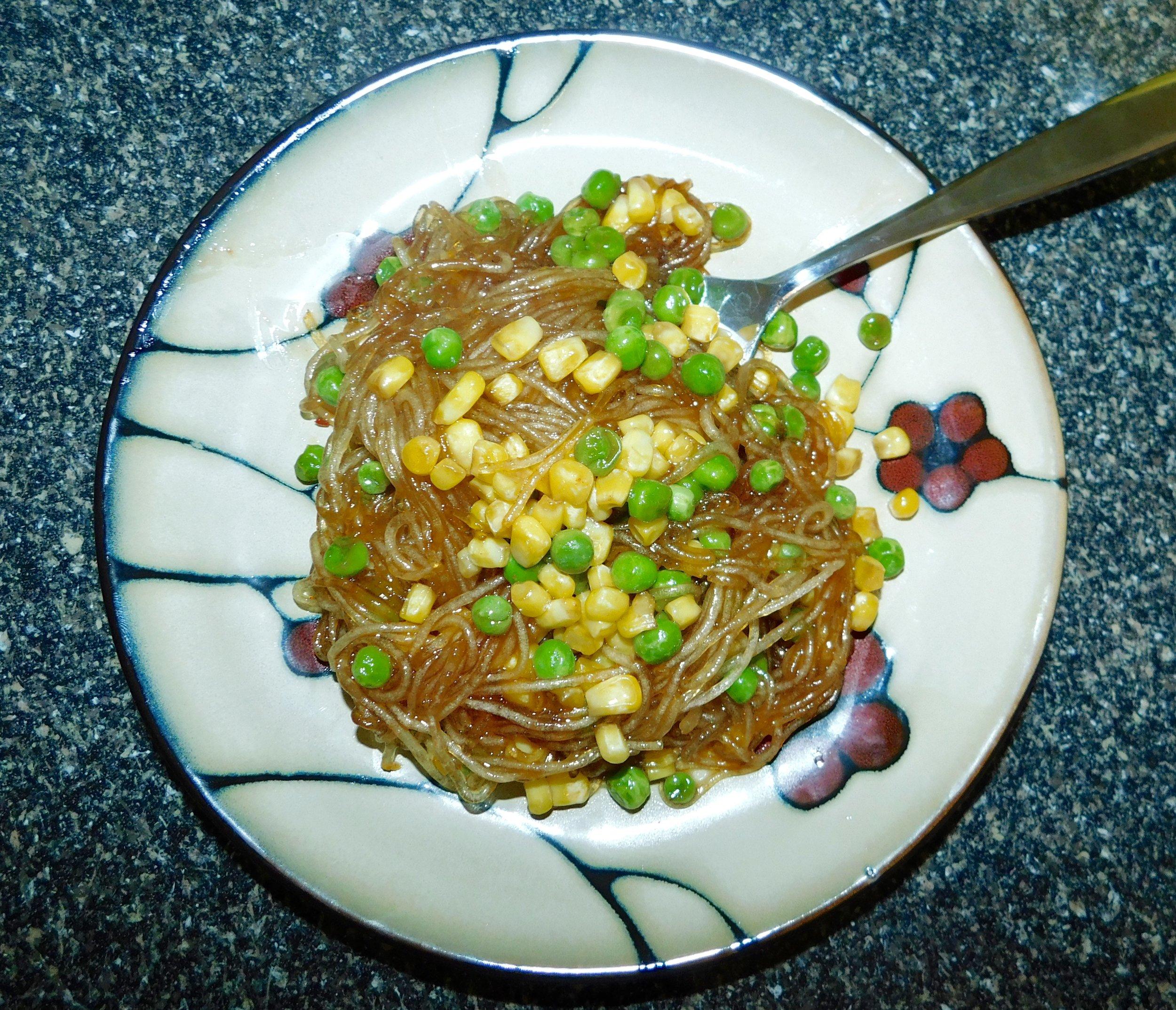 Stir Fry Bean Thread Noodles Perfectly Pku