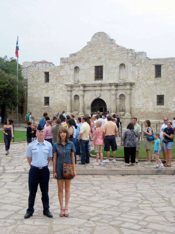 This is as close as we got to The Alamo.