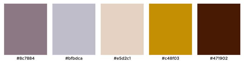 Color Palette: Misty, Pastel, Warm, Purple, Plum, Golden, Vintage & Blush | Hamburg, Germany | Earthtones Travel + Design Blog | Roo Bea Design Co.