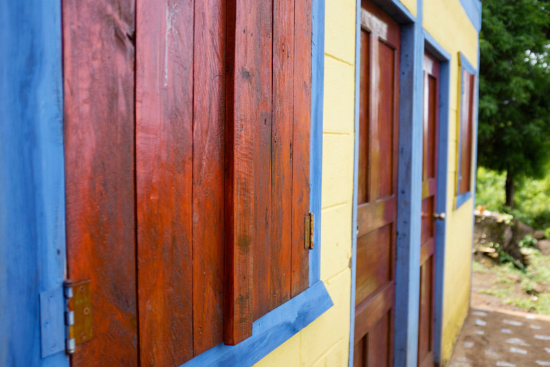 Colorful Architecture on Big Corn Island, Nicaragua | Earthtones Travel + Design Blog | Roo Bea Design Co
