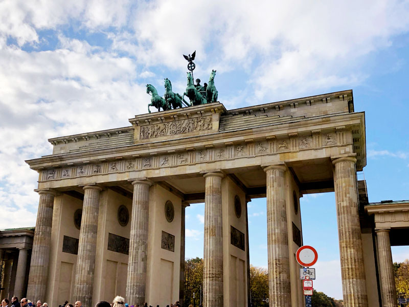 Brandenburg Gate Berlin, Germany | Earthtones Travel + Design Blog | Roo Bea Design Co