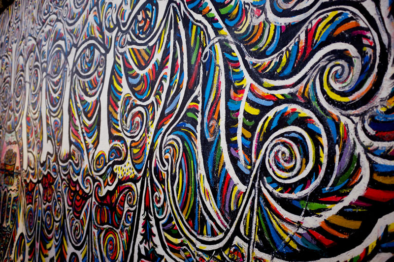The East Side Gallery Berlin, Germany | Earthtones Travel + Design Blog | Roo Bea Design Co