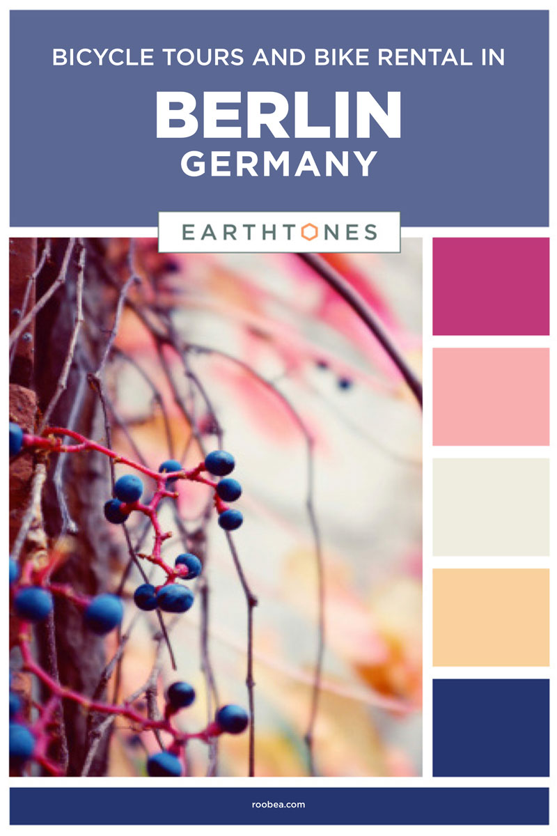 Bicycle Tours and Bike Rental Sightseeing in Berlin, Germany | Earthtones Travel + Design Blog | Roo Bea Design Co